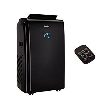 Danby 12000 BTU 3-in-1 Portable Air Conditioner with Remote, Black | DPA120E1BDB