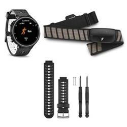 Garmin Forerunner 230 GPS Running Watch + Heart Rate Monitor, Black and White