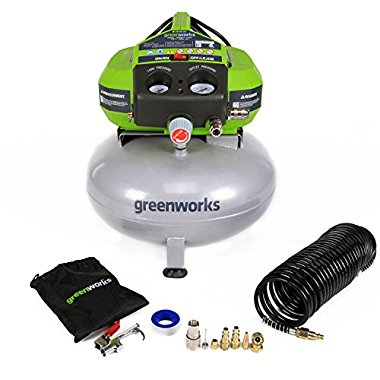Greenworks 12 Amp 6 Gallon Corded Air Compressor