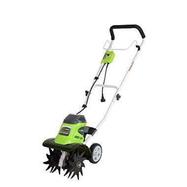 GreenWorks 27072 8 Amp 10 Corded Tiller