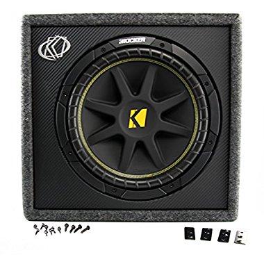 Kicker 10vc124 Vc12 Single Comp 12 Sub Vent Box