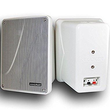 Kicker 11 KB6000W WHITE 6.5 Marine Speakers