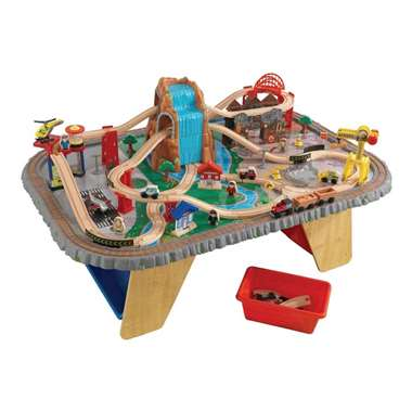 KidKraft Waterfall Junction Train Set and Table