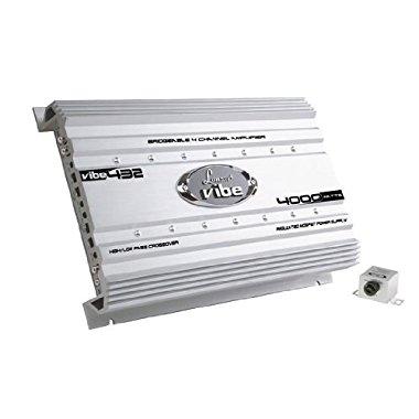 Lanzar VIBE432 Vibe 4000 Watt 4-Channel Mosfet Amplifier