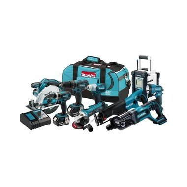 Makita LXT XT902 18V Cordless 9-Piece Combo Kit