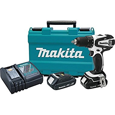 Makita XFD01RW  18V Compact 1/2 Driver-Drill Kit