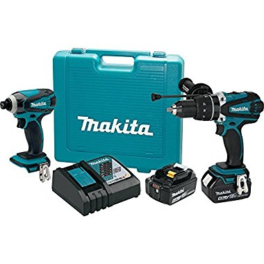 Makita XT218MB 18V LXT Lithium-Ion Cordless 2-Pc. Combo Kit (4.0Ah)