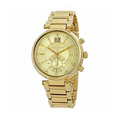 Michael Kors Women's Sawyer Gold-Tone watch MK6362