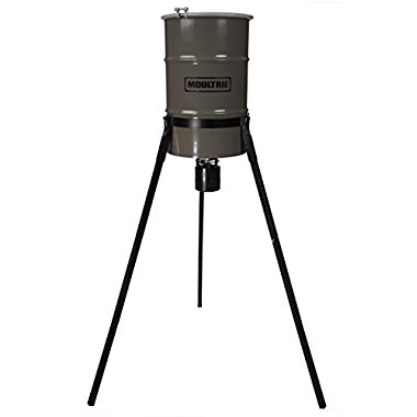 Moultrie 30 Gallon Pro-Hunter Tripod Metal Deer Feeder / MFG-13060