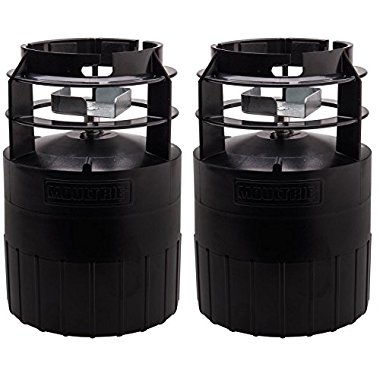 Moultrie Feeders Pro Hunter Game Deer Feeder Kits, Pair