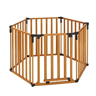North States Superyard 3 in 1 Wood Gate
