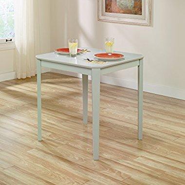 Sauder Furniture 415250 Original Cottage Dining Dinette Table Rainwater Finish