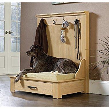 Sauder Furniture Home Entryway Hanger Cushion Dog Bed / 417200