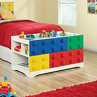 Sauder Primary Street Play Table in Soft White