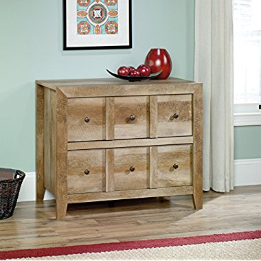 Sauder Woodworking Dakota Pass Anywhere Console in Craftsman Oak | 418104