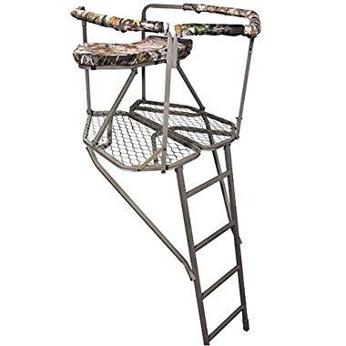 Summit Treestands Outlook Ladder Stand, 36x36in Platform