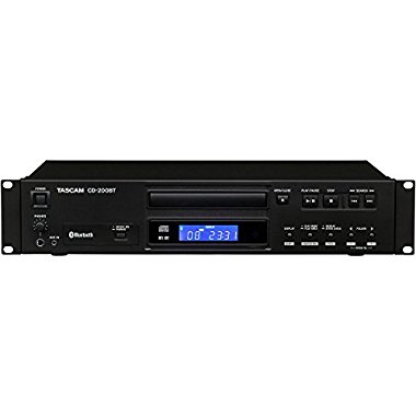 TASCAM CD-200BT Professional CD Player and 8-Way Bluetooth Receiver