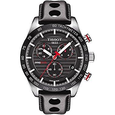 Tissot PRS 516 Quartz Chronograph Watch (T100.417.16.051.00)