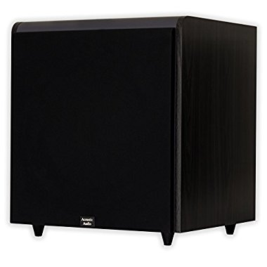 Acoustic Audio HD-SUB15 15 HD Series Front Firing Subwoofer (Black)