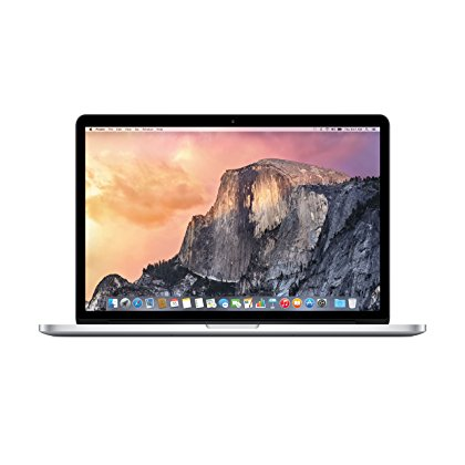"Apple Macbook Pro MJLQ2LL/A 15"" Notebook with 2.2 GHz Intel Core i7 Processor, 16GB RAM, 256GB SSD (Mid 2015 Version)"