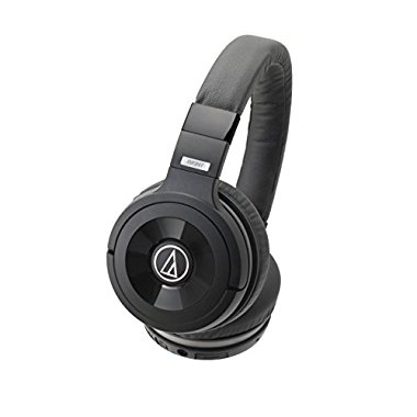 Audio-Technica ATH-WS99BT Solid Bass Wireless Over-Ear Headphones w/ Built-in Mic & Control