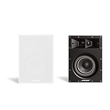 Bose Virtually Invisible 691 In-Wall Speaker (White, Pair)