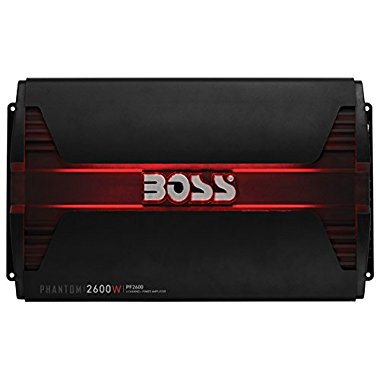 Boss Audio PF2600 2600W 4 Channel Amplifier with LED and Remote
