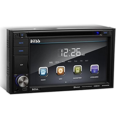 Boss BV9362BI 6.2 Touch Screen DVD/MP3 Player with Bluetooth