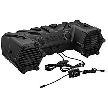 Boss Dual 450W 6.5 ATV/Marine Amplified Waterproof Speakers with Bluetooth / ATV28B