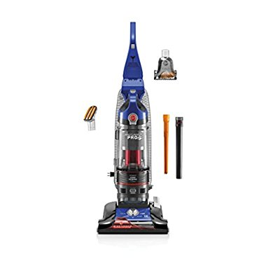 Hoover UH70935 3 Pro Pet Bagless Upright Vaccum Cleaner, Blue, 1.36 Liters
