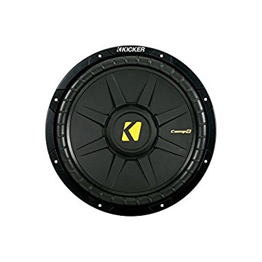 Kicker 40CWD122 CompD Series 12 inch Subwoofer Dual 2 Ohm
