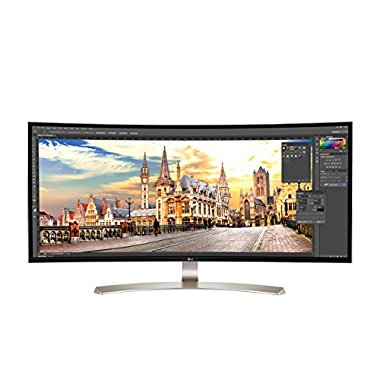 LG 38UC99-W 38 21:9 UltraWide WQHD IPS Curved LED Monitor