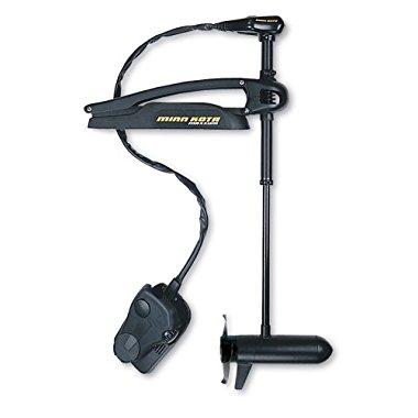 Minn Kota Maxxum 80 Bow-Mount Trolling Motor with Foot Control and Bowguard (80-lb Thrust, 52 Shaft)