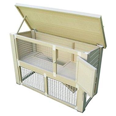 New Age Pet Eco-Concepts Columbia Rabbit Hutch ERH303