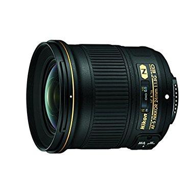 Nikon AF-S NIKKOR 24mm f/1.8G ED Wide Angle Lens for Nikon DSLR Cameras