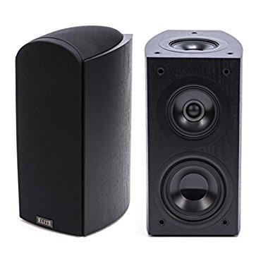 Pioneer Elite SP-EBS73-LR Dolby Atmos Bookshelf Speakers (Black, Pair)