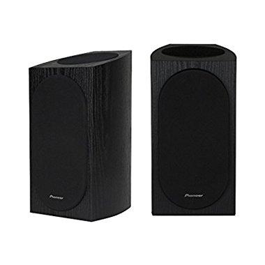 Pioneer SP-BS22A-LR Andrew Jones Designed Dolby Atmos Bookshelf Speaker (Black)