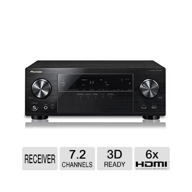 Pioneer VSX-1024-K 7.2-Channel 4K Ultra HD 3D A/V Home Theater Receiver