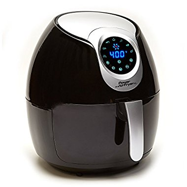 Power AirFryer XL (3.4 QT, Black)