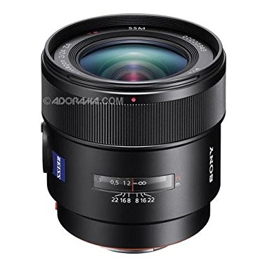 Sony SAL24F20Z 24mm f/2.0 Wide Angle Lens for Sony Alpha DSLR's