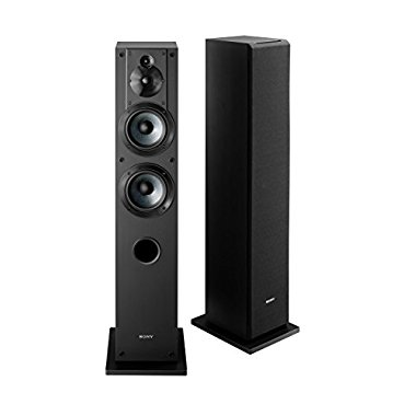 Sony SS-CS3 3-Way 4-Driver Bass Reflex Stereo Floor-Standing Speaker