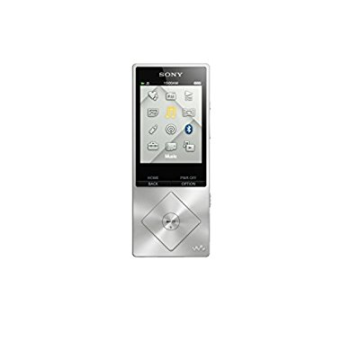 Sony Walkman NWZA17SLV 64 GB Hi-Res Digital Music Player (Silver)