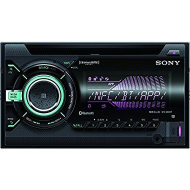 Sony WX900BT CD Receiver with Bluetooth (Black)