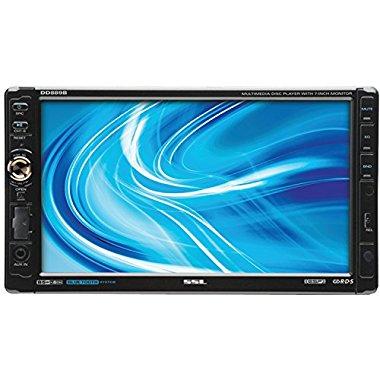 """Soundstorm DD889B 7"""" Bluetooth TouchScreen 2 Din DVD/CD Player Receiver"""
