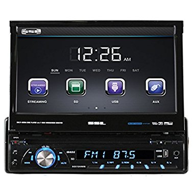 Soundstorm Ssl SD726MB 7 Bluetooth Touchscreen DVD/CD/USB Player