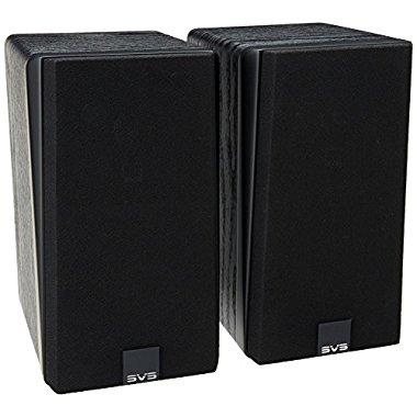 SVS Prime Satellite Speakers (Black Ash, Pair)