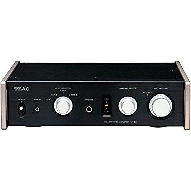 Teac HA-501-B Dual Monaural Headphone Amplifier (Black)