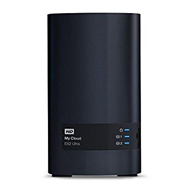 Western Digital 4TB My Cloud EX2 Ultra 2bay WDBVBZ0040JCH-NESN