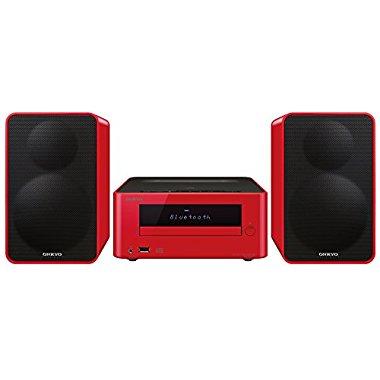 Onkyo CS-265(R) CD Hi-Fi Mini System with Bluetooth