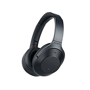 Sony MDR-1000X Premium Noise Cancelling, Bluetooth Headphone (Black)